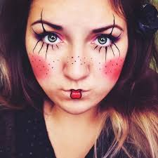 simple clown makeup every kind of