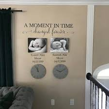 A Moment In Time Changed Forever Photo Picture Wall Vinyl Wall Etsy In 2020 Vinyl Wall Decals In This Moment A Moment In Time