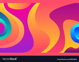 modern wallpaper abstract vector image