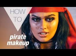 pirate how to makeup