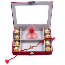 rakhi gifts to hyderabad india box