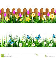 Fence Border Clipart Border Fence Design Clipart