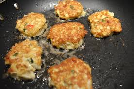 Low Carb Crab Cakes with Mustard Sauce ...