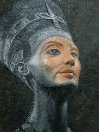 Queen Nefertiti Painting by Edwin Darwin | Saatchi Art