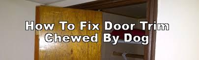 packers on door frame broken door jamb