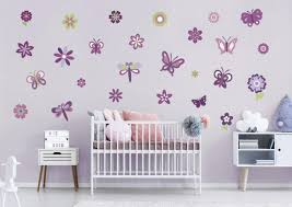 Girl Nursery Butterfly Wall Decals Home Inspirations