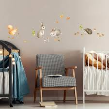 Cute Wall Stickers For Kids Rooms Made Of Sundays