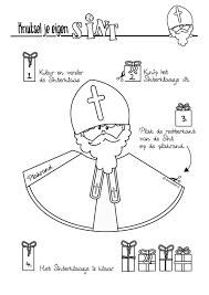 Gratis Te Downloaden Om Zelf Te Printen En Maken Sinterklaas