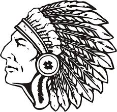 28+ Indians Football Lo... Indian Head Clipart | ClipartLook