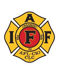 Iaff Logo Red Jpeg Iaff Logo Iaff Firefighter