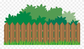 Garden With Fence Clipart Png Download 5401784 Pinclipart