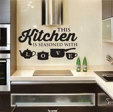 Wall Sticker Home Decoration Kitchen Quotes Decals Art Murals House Accessories For Sale Online Ebay