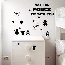 Stencil Cut Wall Stickers For Kids Room Decor Death Star For Kidsdecoration For Room Aliexpress