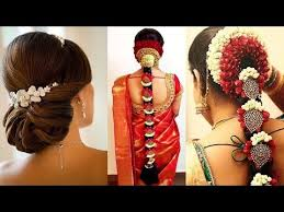 simple indian bridal hairstyle tutorial