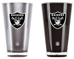 Oakland Raiders Tumblers Set Of 2 20 Oz My Team Outlet