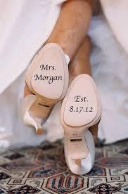Wedding Shoe Personanlized Vinyl Decal By Memories In A Snap Custom Wedding Shoes Wedding Shoes Wedding Shoe