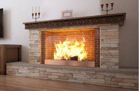 scenic hearth of fireplace ideas brick