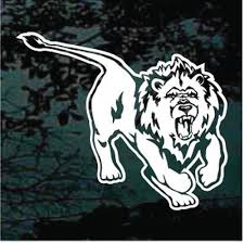 Lion Car Decals Stickers Decal Junky