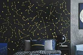 Amazon Com 27 Zodiac Constellation Wall Decals Star Decals Zodiac Gift Vinyl Wall Decals Star Wall Stickers Wall Decor Gift For Her Ga162 Handmade