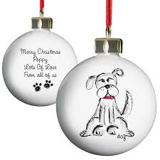 dog bauble gifts for dog