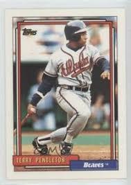 1992 Topps Terry Pendleton #115 | eBay