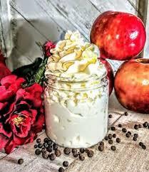 homemade hand body lotion apple e