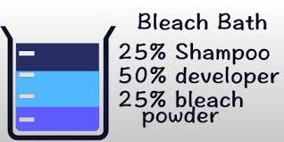 bleach bath hair all about the gloss