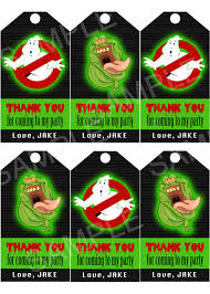Ghostbusters Party Invitation Instant Printable Invitations
