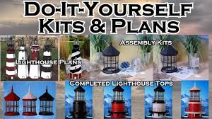 lawn lighthouse kits and plans the