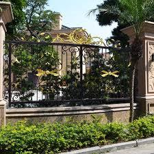 china modern metal garden fencing