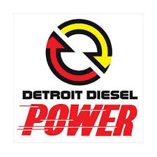Detroit Diesel Power Logo Decal Vinyl Sticker 4 Stickers Detroit Diesel Power Logo Detroit
