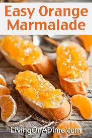 homemade easy orange marmalade recipe