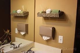 diy bathroom decor and storage ideas
