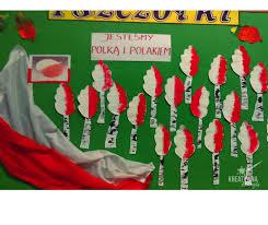 Święto Niepodległości w przedszkolu- praca plastyczna | Święto ...