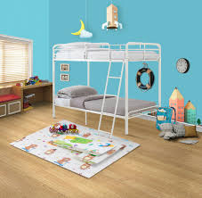 Twin Size Metal Frame Daybed Bedroom Kids Room Furniture Loveseat White Finish For Sale Online Ebay
