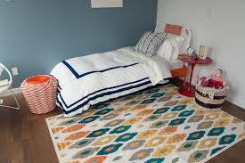 In The Children S Room A Colorful Diamond Ikat Rug Is Balanced With Inside One Of The Country S Most Luxurious Prefabs Popsugar Home Photo 17