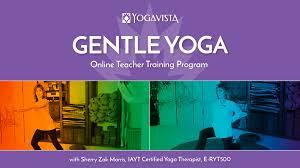 gentle yoga teacher program