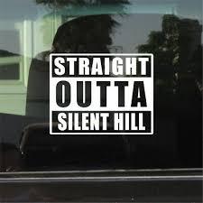 Silent Hill Pyramid Head Vinyl Decal Sticker Car Window Wall Bumper Computer Pc Car Truck Graphics Decals Motors Tamerindsa Com Ar