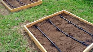 install a drip irrigations system