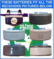 Ten Pack Batteries For Invisible Fence Dog Fence Collars