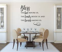 Bless The Food Before Us Vinyl Decal Wall Stickers Letters Words