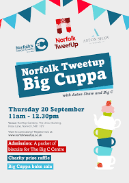 cuppa in aid of big c cancer charity
