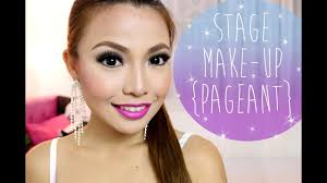 pageant make up you
