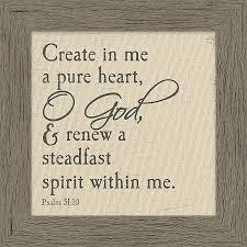 Psalm 51 10 Wall Decor Lifeway