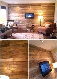 15 Creatively Genius Diy Wood Walls Diy Crafts