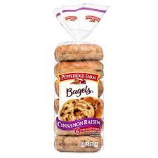 pepperidge farm bagels authentic