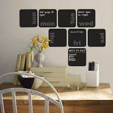 Days Of The Week Planner Chalkboard Peel And Stick Wall Decals Wall Decal Allposters Com