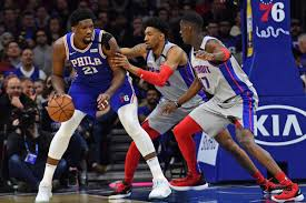 Sixers win final game before NBA ...
