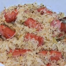 sauer with polish sausage recipe