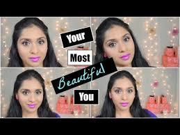 purple valentines day makeup tutorial